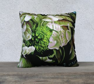 "Peony Ridin' Pillow II-22""x22"" Pillow Case preview"
