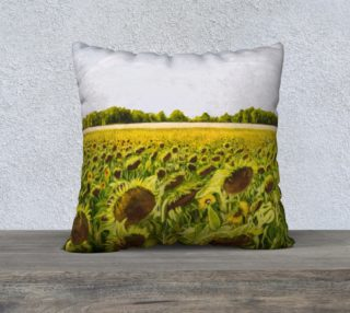 "Field of Dreams II-22""x22"" Pillow Case preview"
