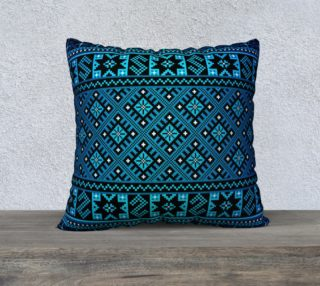 """WestLandBlue"" Pillow Case 