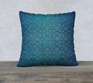 """BlueLand"" Pillow Case 