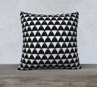 Diamond Pattern White-Black preview