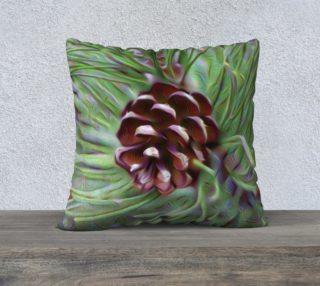 Silky Pinecone Pillow Case preview