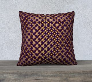 Golden Octagon on Royal Purple preview