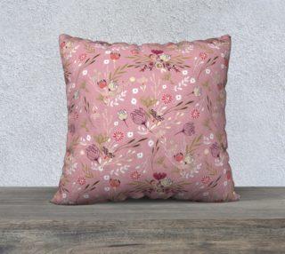 Aperçu de Cute Pink Floral Pattern