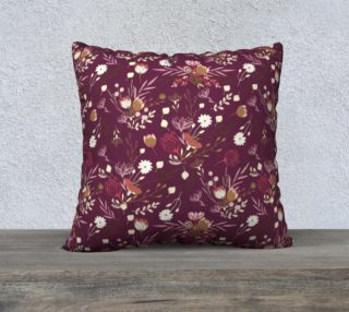 Aperçu de Cute Purple Floral Pattern