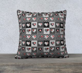 Aperçu de Checkered Heart Patchwork