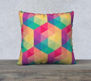 Aperçu de Colorful Spectrum Abstract Triangles