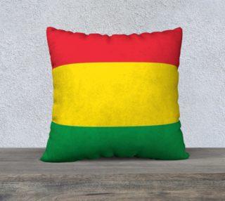 Aperçu de Rasta Colors Green Yellow Red Stripes Pattern