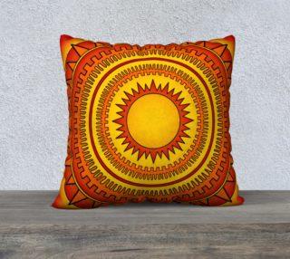 Blazing Hot Geometric Summer Sun preview