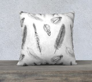 Feather Pattern Pillow preview