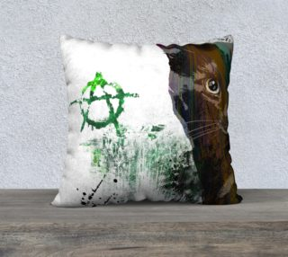 Cat №1 Pillow Case preview