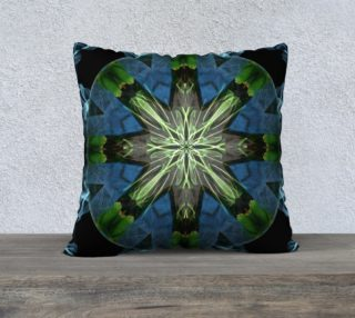 Soaring Spirit Mandala Pillow preview