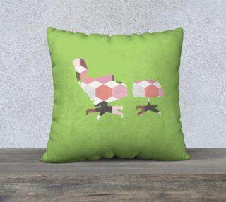 Green Eames Lounger Pillow preview