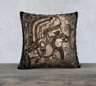 "Ancient Mexico 22"" x 22"" Pillow Case preview"
