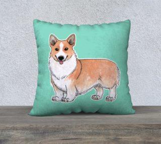 Welsh corgi dog 22 x 22 Pillow Case preview