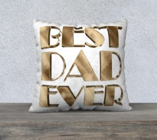 Best Dad Ever Gold Look Elegant Typography preview