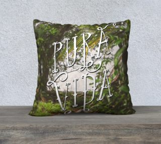 Pura Vida large Pillow preview