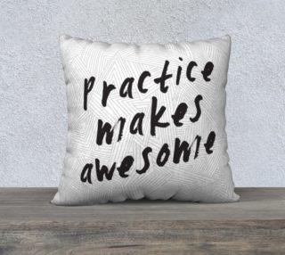 Aperçu de Practice Large Pillow