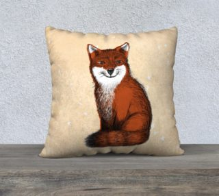 Foxy Large Pillow Case preview
