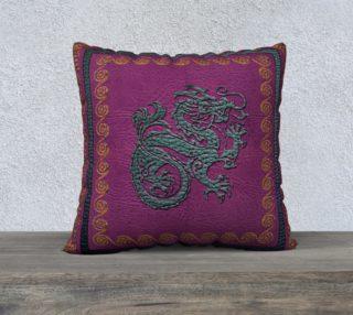 Jade Dragon  Pillow Case preview