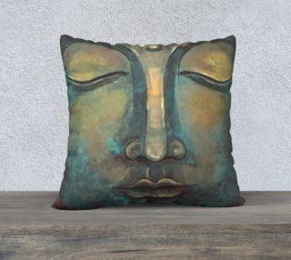 Copper Buddha Face Design preview
