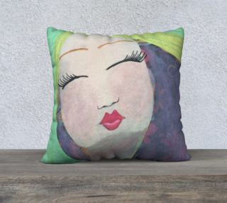 """Peaceful 22"""" Pillow Case preview"""
