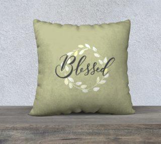 Aperçu de Blessed Pillow