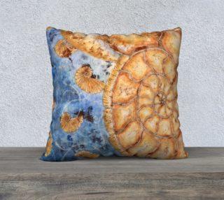 Nautilus Shell Fibonacci Under the Sea 22X22 Pillow Case preview