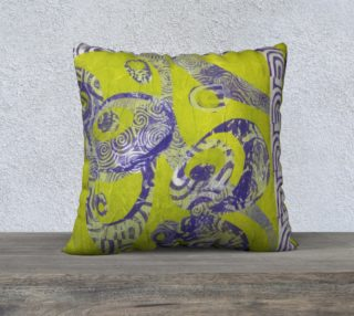 Lime Orchid Pillow preview