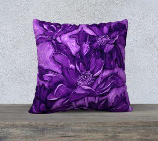 "Purple Poppy 22X22"" preview"