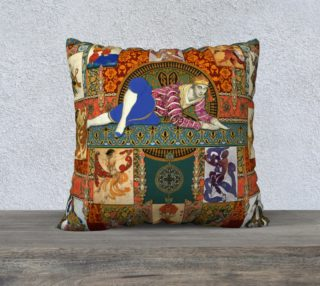Ballets Russes Tapestry - 22x22 Pillow Case preview