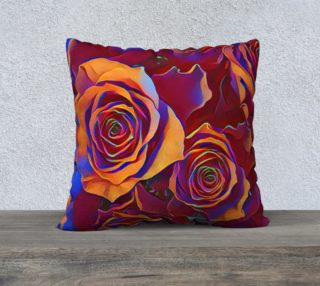 Why Not Roses 22 x 22 Pillow Case preview