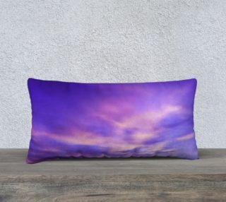 24x12 Purple Sunrise Pillow Case preview