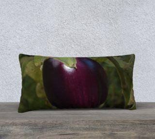 Purple Eggplant Pillow Case 24x12 preview