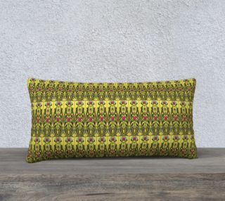 Yellow Nouveau 24 x 12 Pillow Case preview