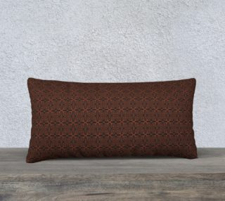 Fire Maze Tile 24 x 12 Pillow preview