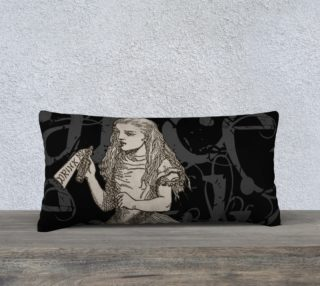 Alice In Wonderland Grunge Alice Pillow (24x12) preview
