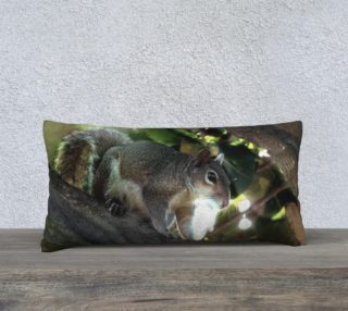 24X12 Color Muse  Woodland  Wanderer Art Deco Pillow  preview