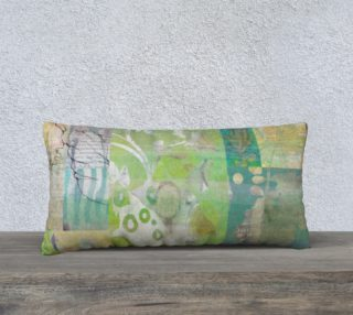 Alluring Umbrage Lumbar Pillow by Deloresart preview