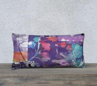 Elm Bud Lumbar Pillow by Deloresart preview