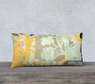 Tanglebrush Lumbar pillow by Deloresart preview