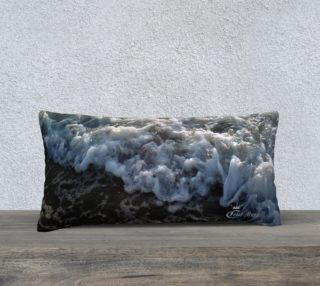 24X12 Color Muse  An Ocean Passion Art Deco Pillow   preview