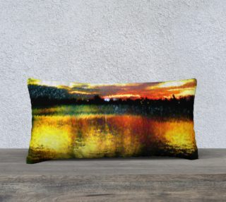24X12 Color Muse Southern Sunset Pillow preview