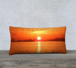 24X12 Color Muse South Florida Wanderland Art Deco Pillow preview