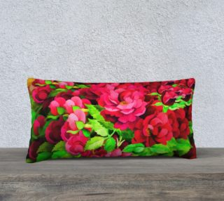 Floral Rose Pillow 2 preview
