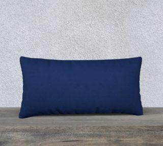 """AK02-057-AO4:  Pillow 24""""x12""""   Simply Solids™ - AggieLand Blue preview"""
