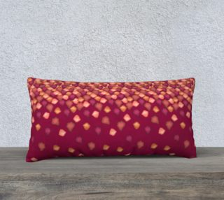 "Falling Leaves Pillow Case - 24""x12"" preview"