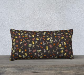 Aperçu de Orchids of Tambopata 1 Pillow Case 24x12