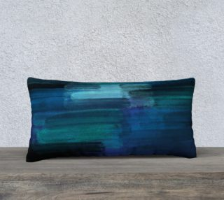 Midnight Ocean 24x12 Pillow Case preview