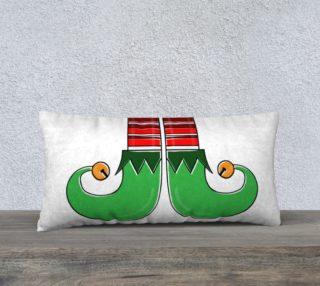 """Elf Feet Pillow Case - 24""""x12"""" preview"""